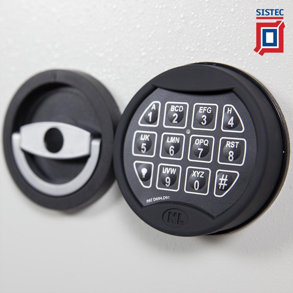 Elektronische slot Sistec MT+ privé kluis