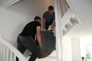 Kluis op trap